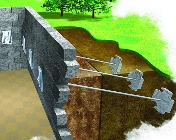 wall anchor diagram