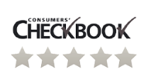 consumer checkbook 5 star verification icon