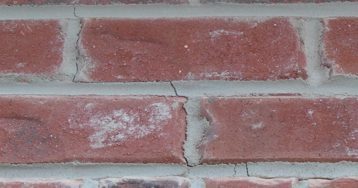 Brick mortar cracks