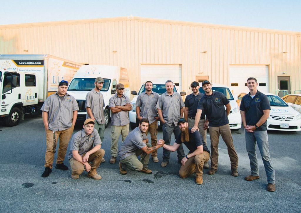 hardworking home repair team