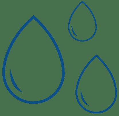 water drops in basement