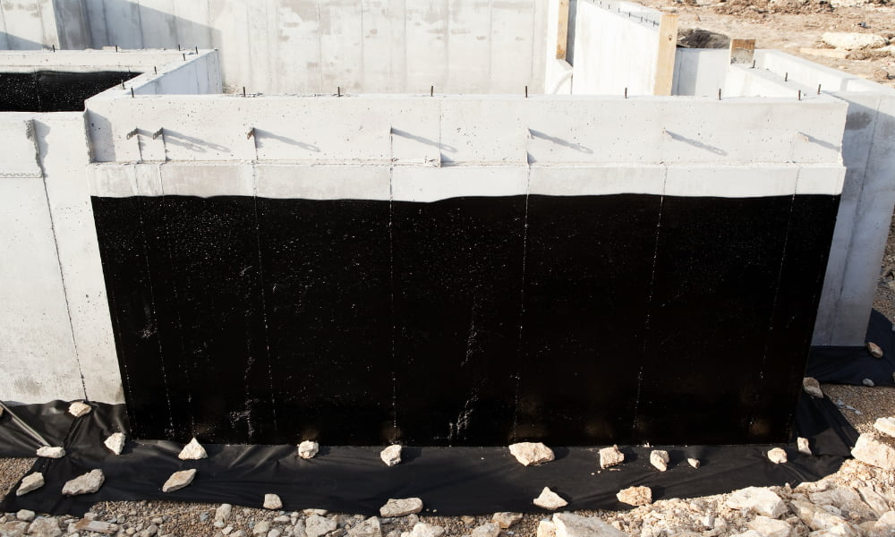 exterior basement waterproofing for house