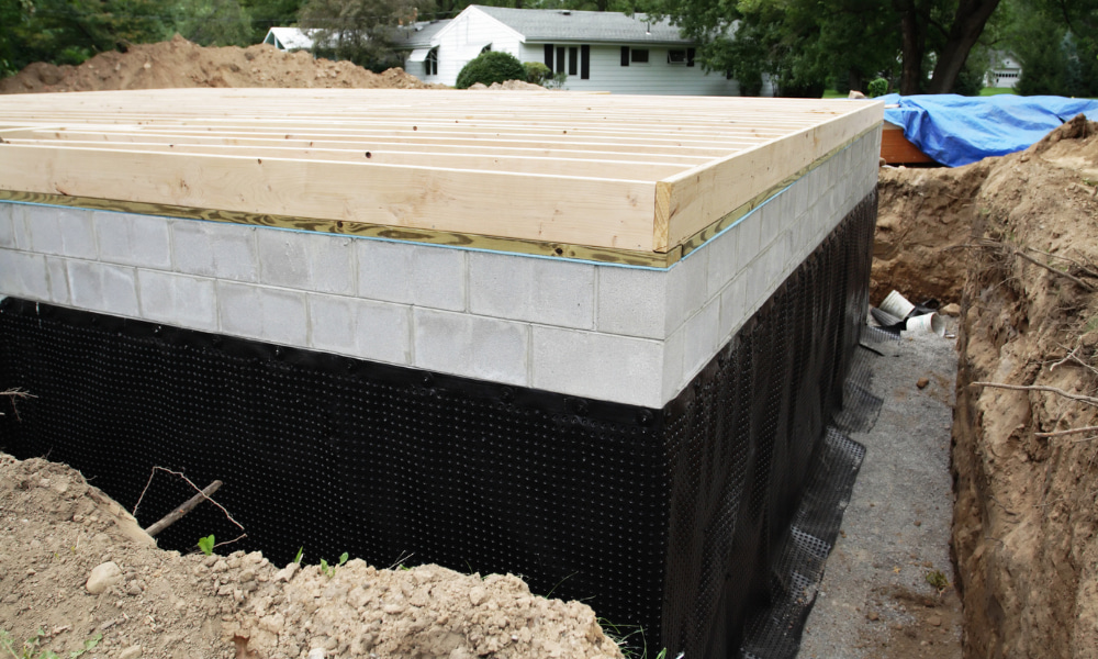 different basement waterproofing methods