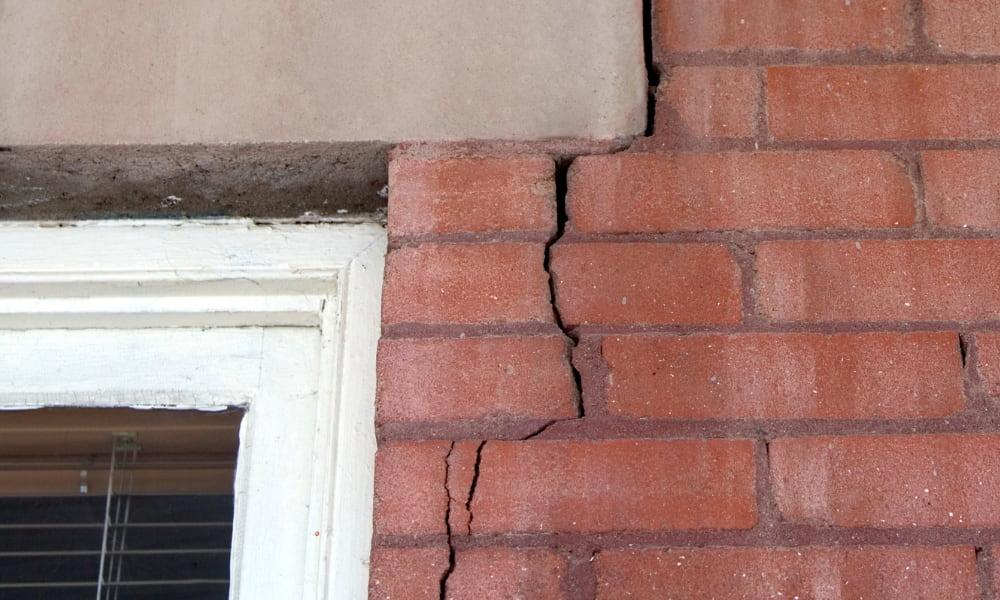 cracked foundation in need of foundation repair